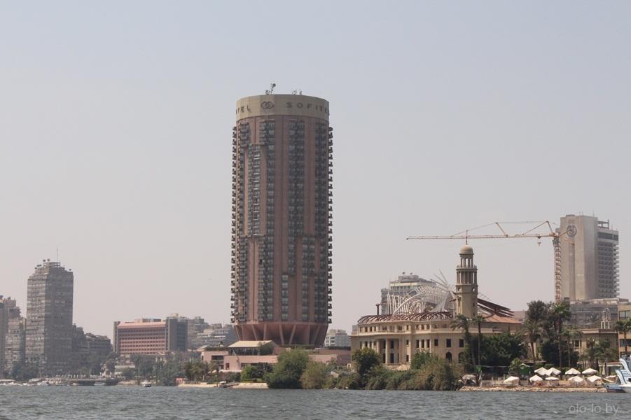 Река Нил, вид с катера 2