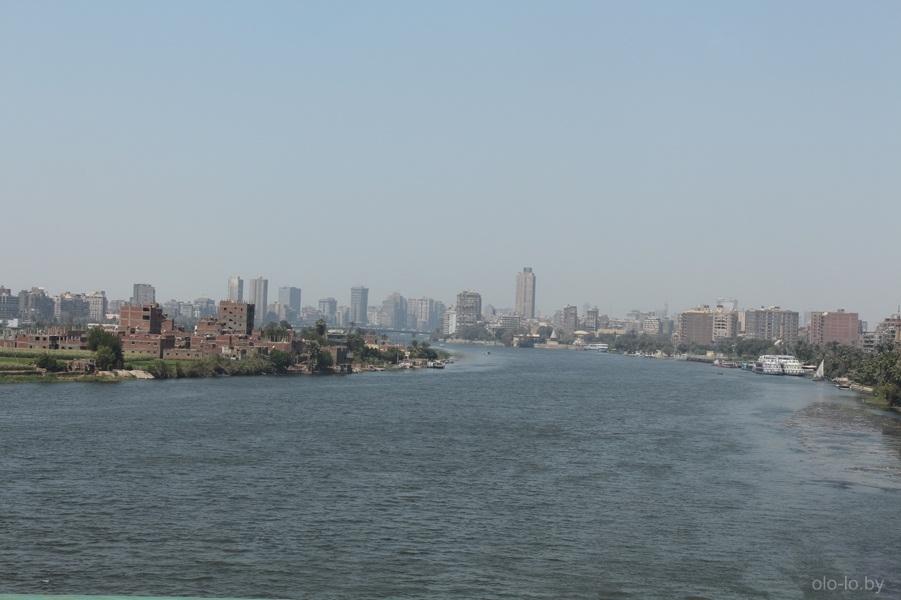 Река Нил, вид с моста 1