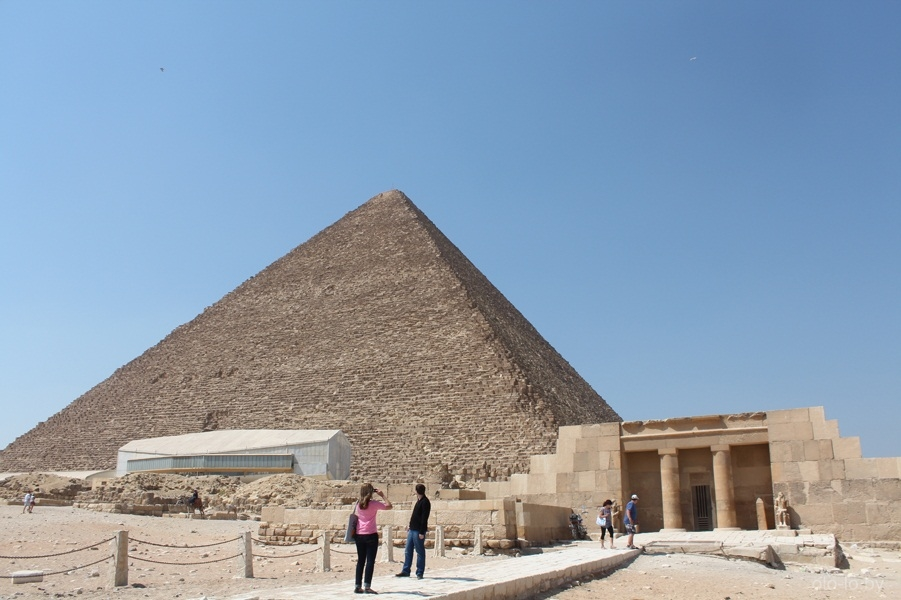 Пирамида Хеопса 1