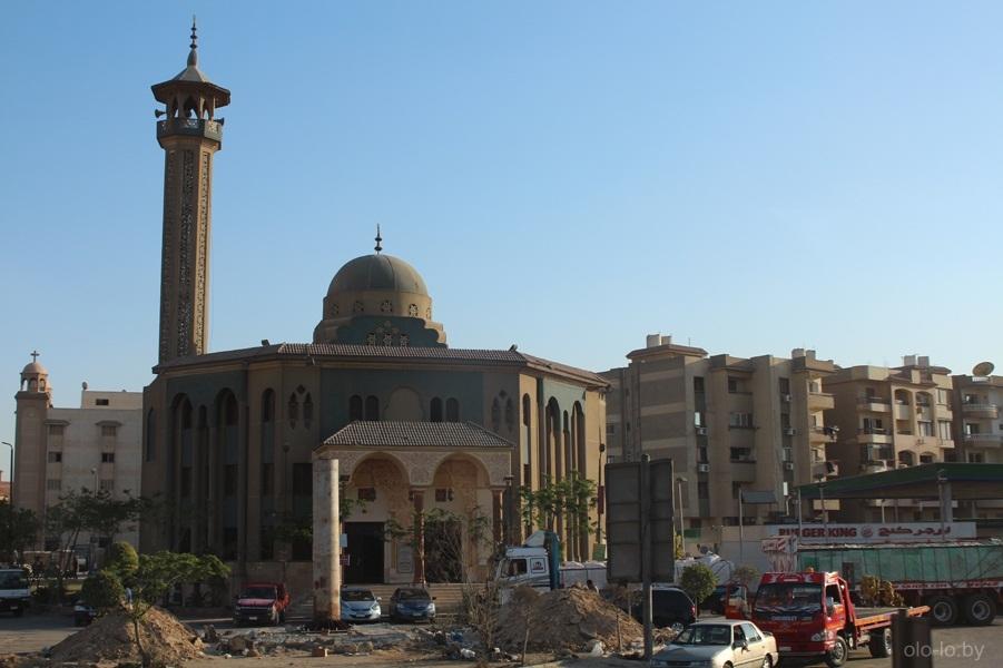 Плотность домов в Каире