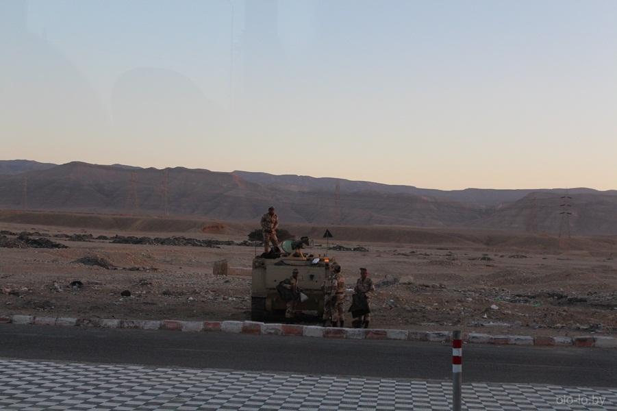 египетские пограничники