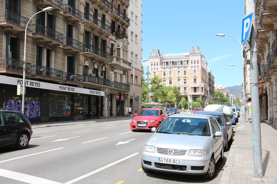 здания Барселоны