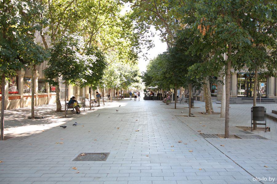бульвары Барселоны