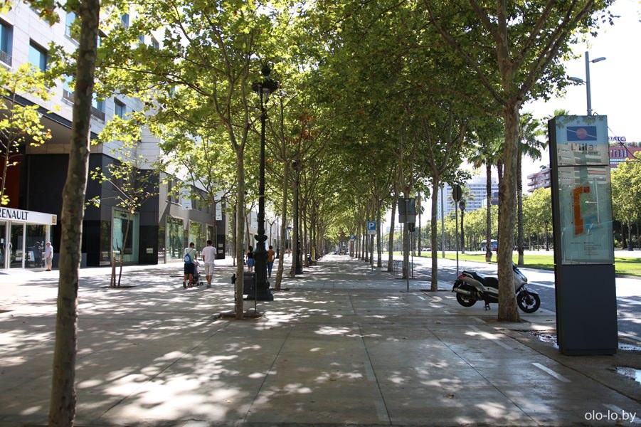 проспект в Барселоне