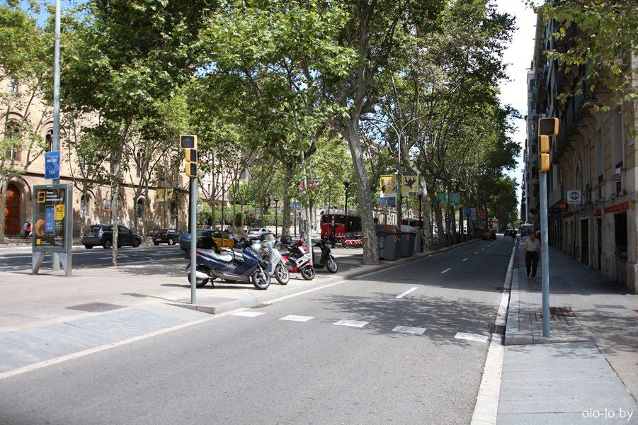 барселонские улицы