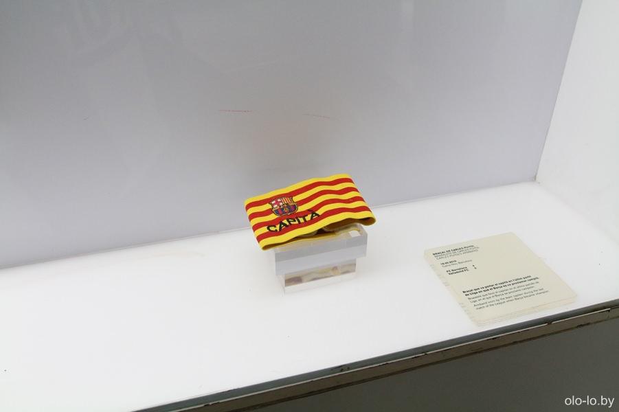 капитанская повязка Иньеста (ФК Барселона)