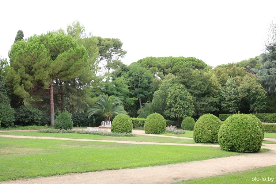парк Педральбес