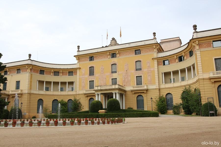 королевский дворце Педральбес