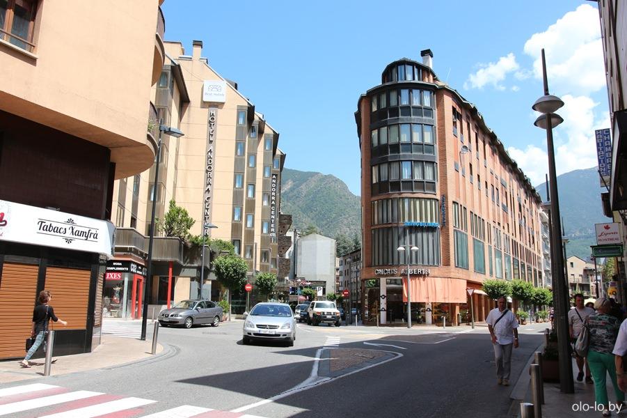 улицы Андорры-ла-Вельи