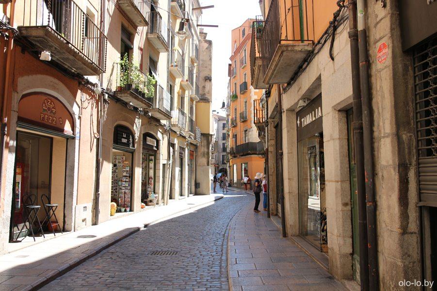 улочка в еврейском квартале Эль-Кало