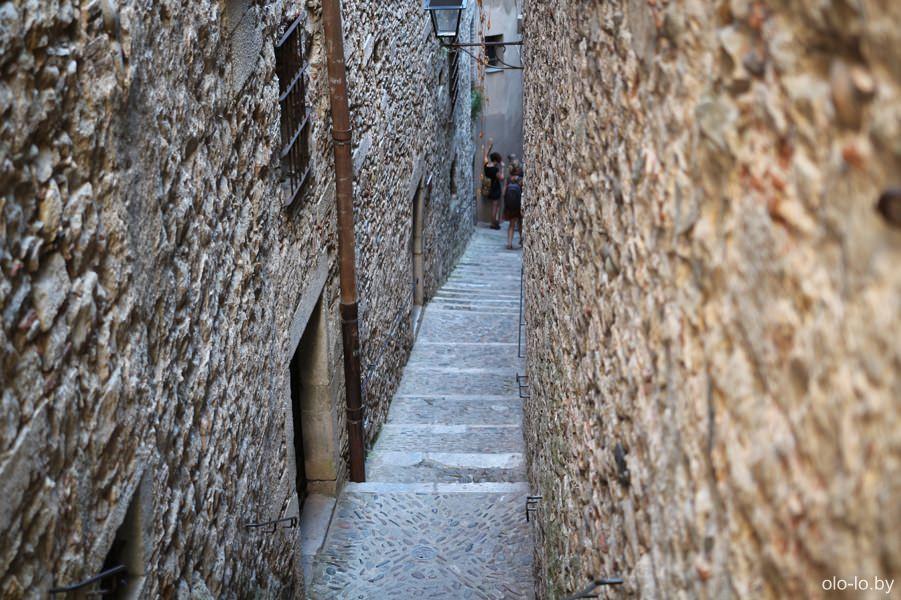 лестница в еврейском квартале Эль-Каль