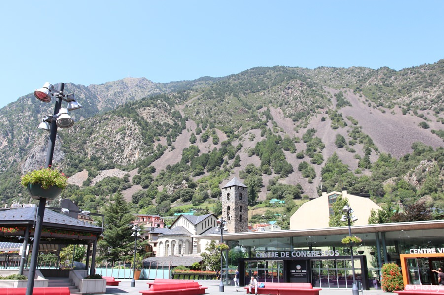 Андоррские горы
