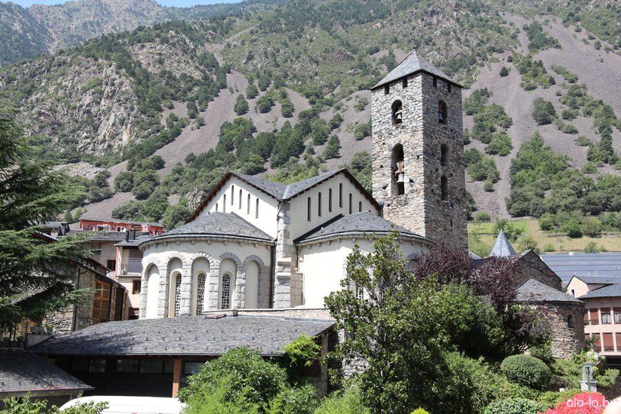 церковь Святого Арменголя в Андорре