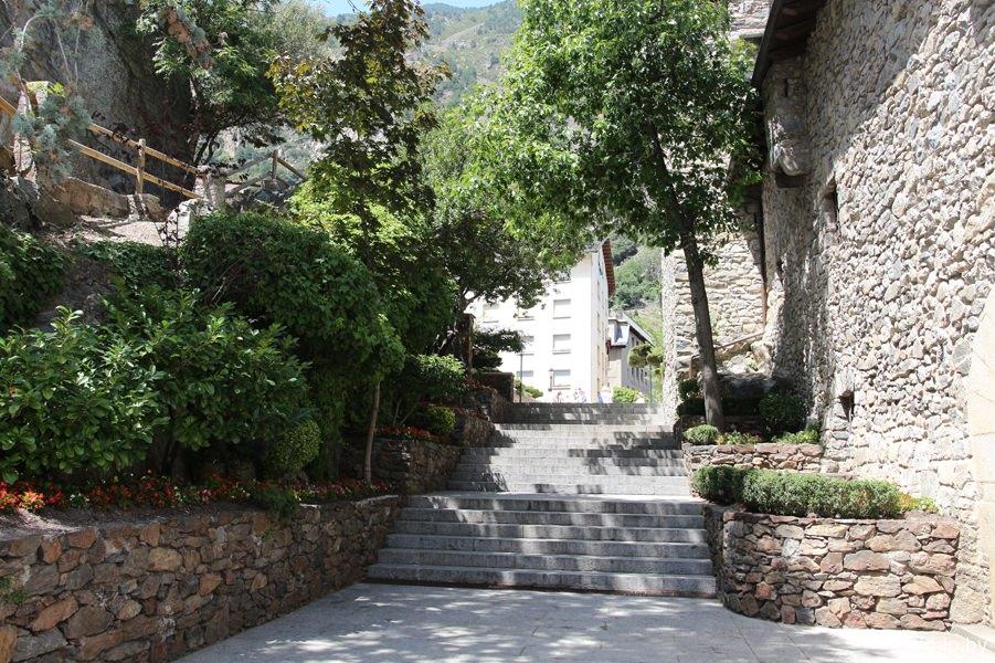 лестница у Каса-де-ла-Валь
