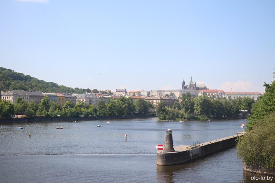 Вид на Влтаву, Прага