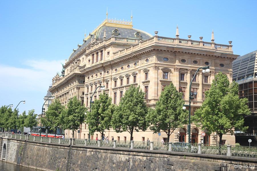Национальнай театр, Прага