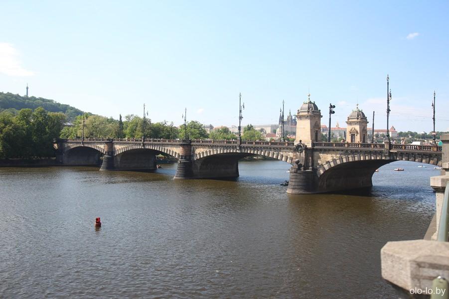 Мост Легионеров, Прага