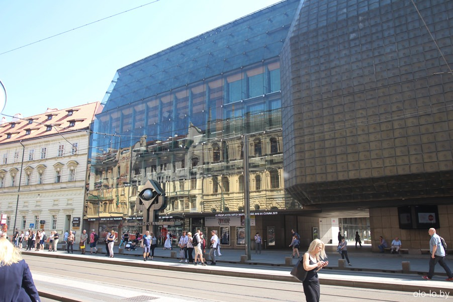 таетр Laterna Magica, Прага