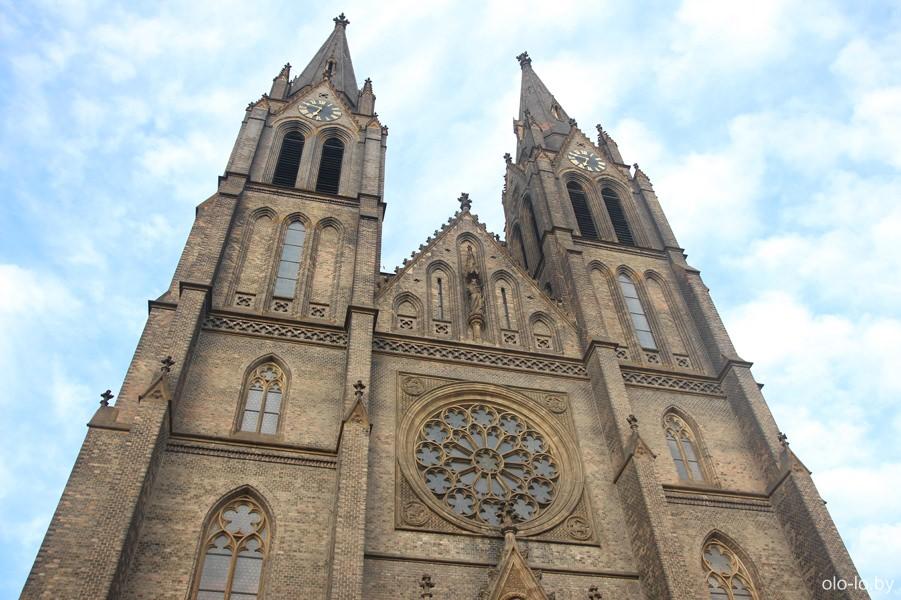 Храм Святой Людмилы, Прага