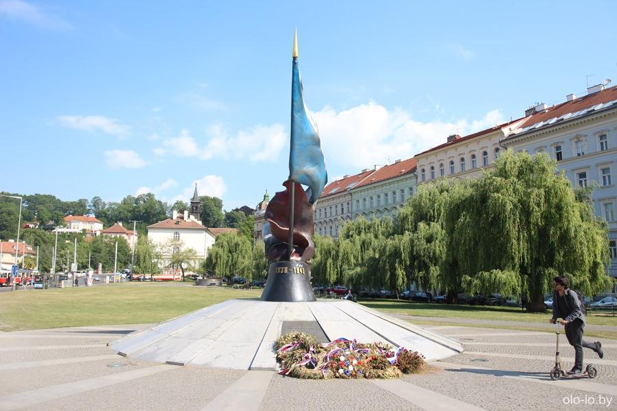 Памятник павшим во время Второй Мировой войны