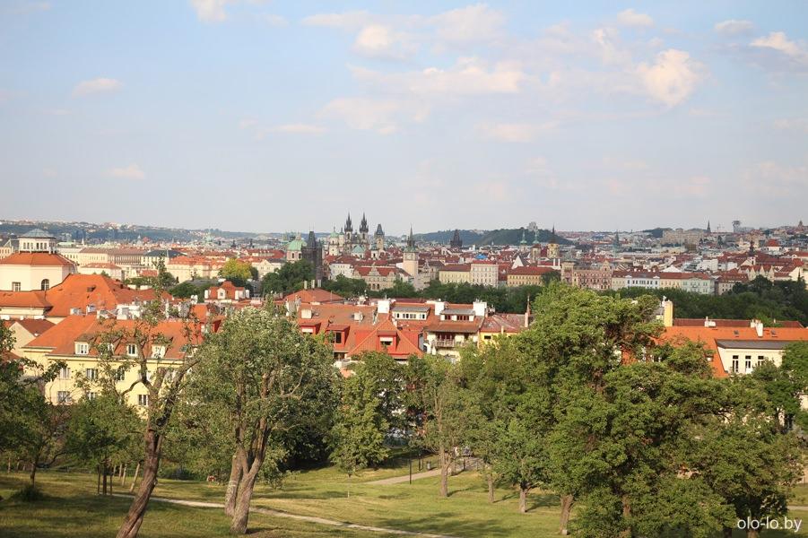 Панорама Праги, Петршинский холм