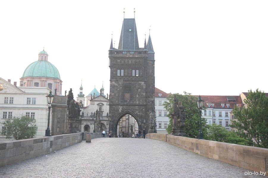 Староместская мостовая башня, Карлов мост