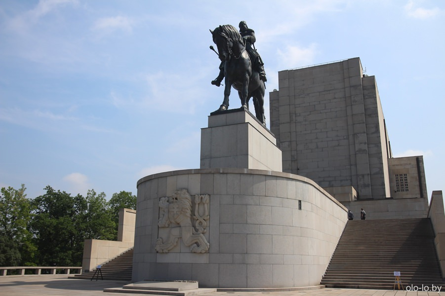 Памятник Яну Жижке на Витковском холму
