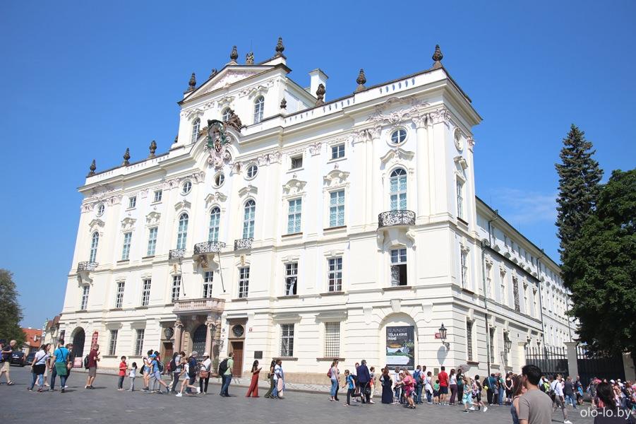 Архиепископский дворец, Пражский град