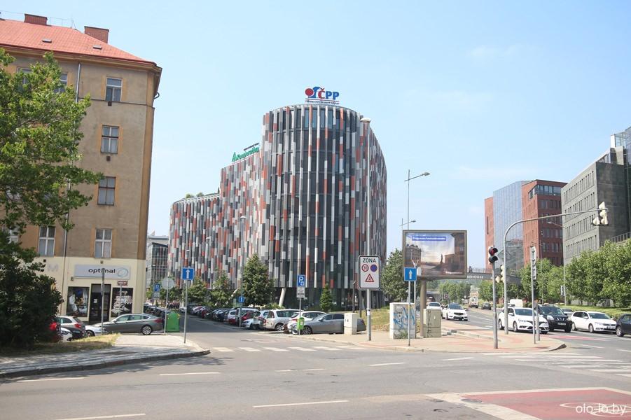 Современный квартал Праги