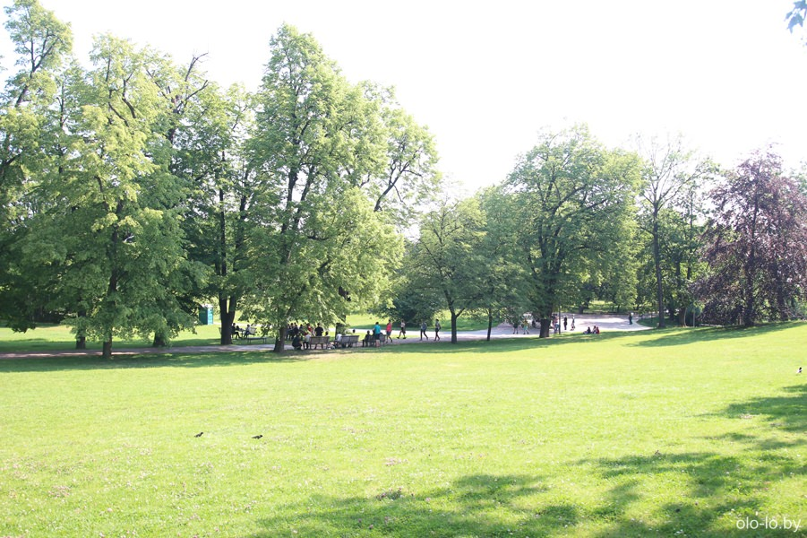 Летенский сады, Прага