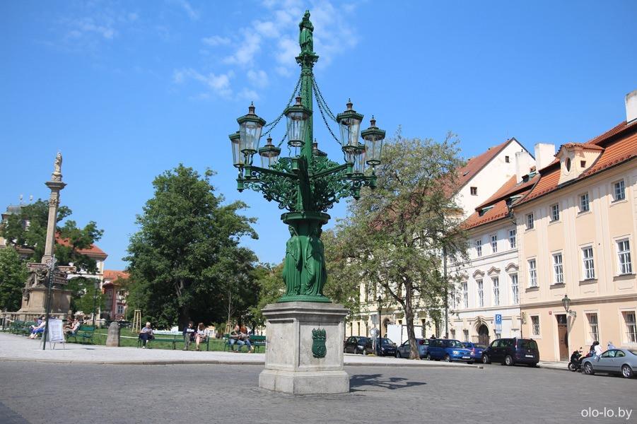 Газовый фонарь, Пражский град