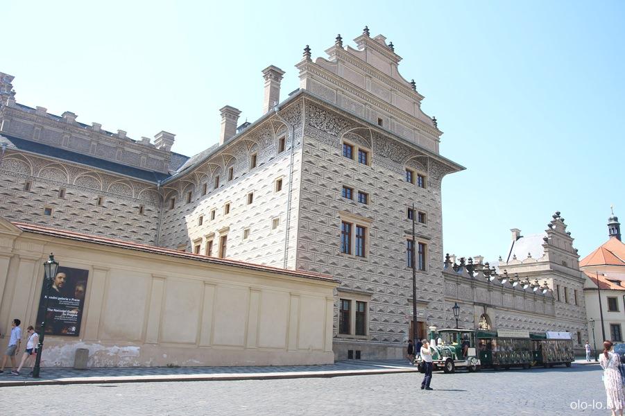 Шварценбергский дворец, Пражский град