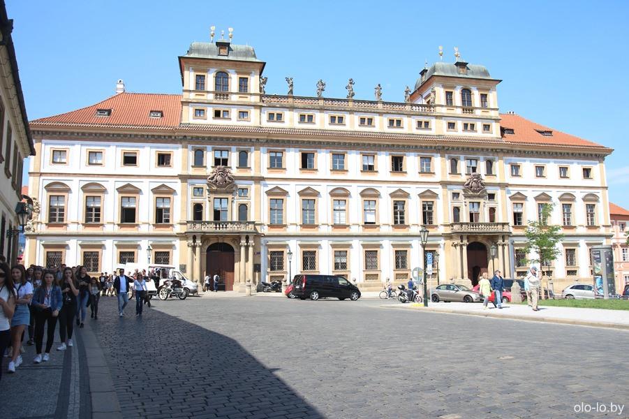 Тосканский дворец, Пражский град