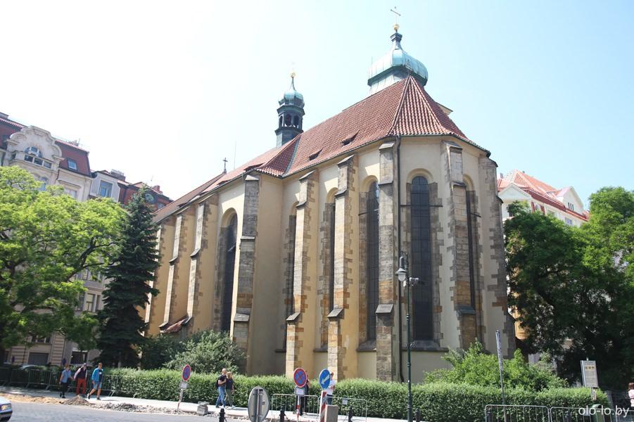 Храм Святого Гаштала, Прага