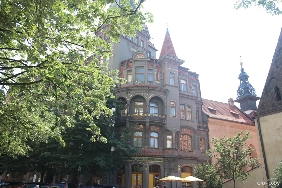 Высокая синагога, Прага