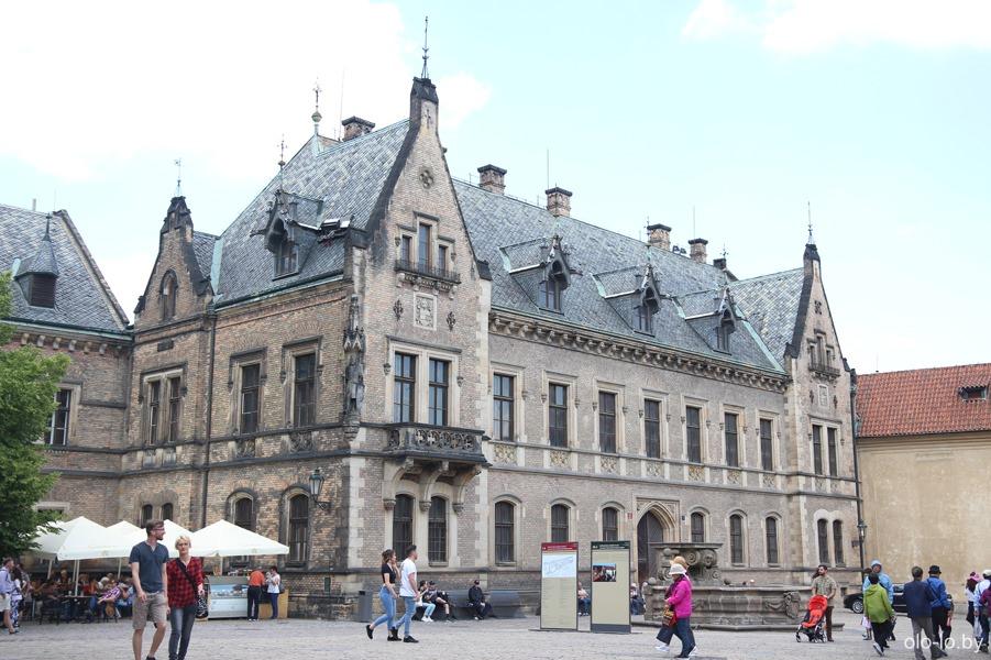 Новый пасторский дом, Пражский град