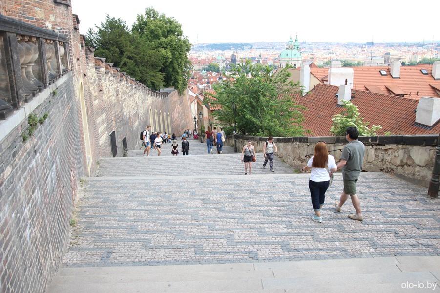 Новая замковая лестница, Пражский град