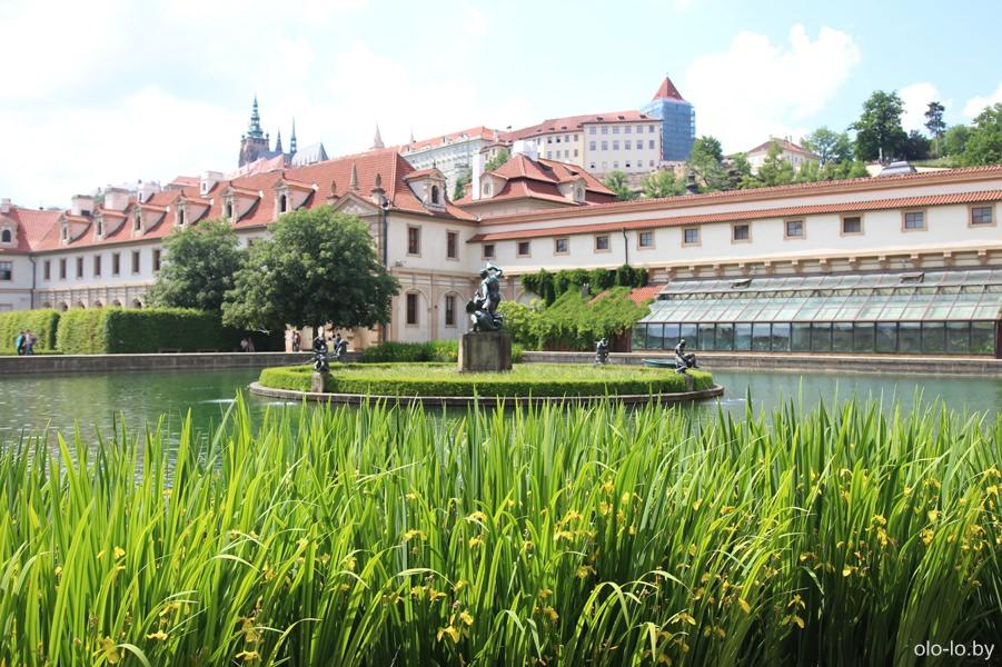 Валдштейский сад, Прага