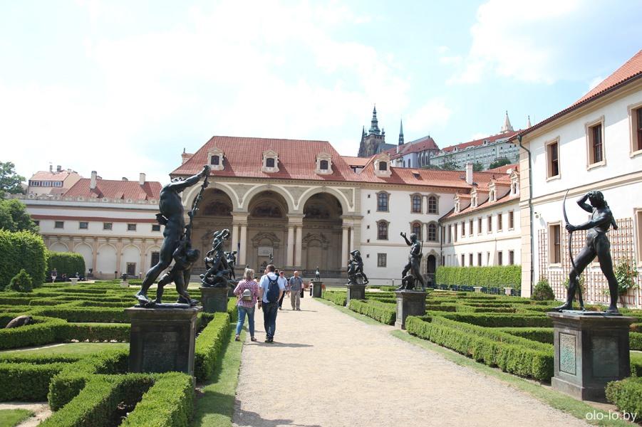 Валдштейнский дворец, Прага