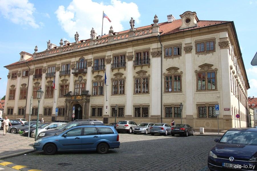 Ностицкий дворец, Прага