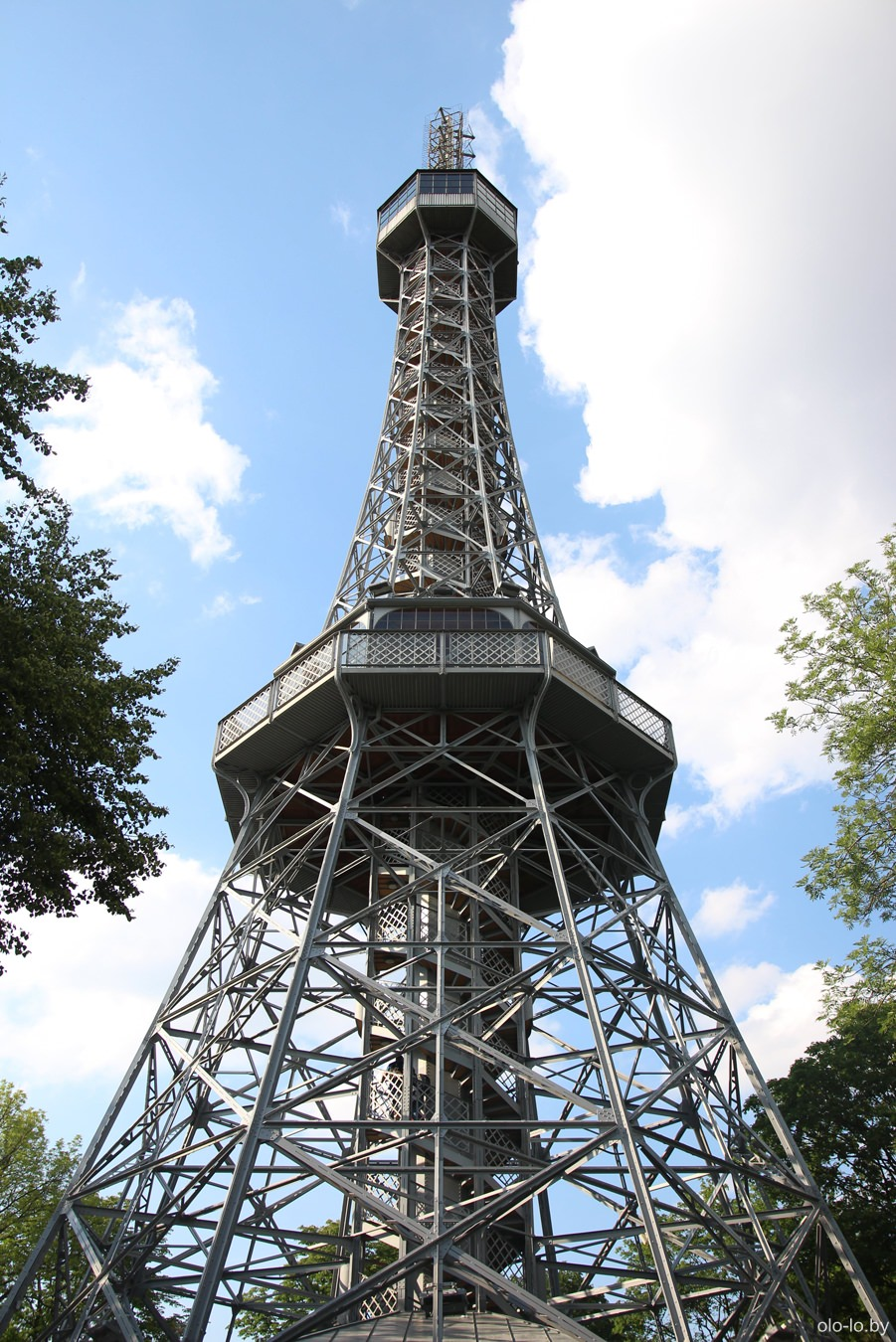 Петршинская башня, Прага