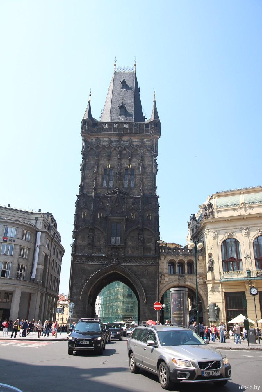 Пороховая башня, Прага