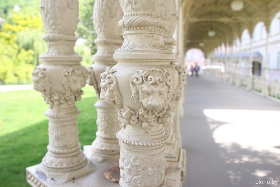 Садовая колоннада, Карловы Вары