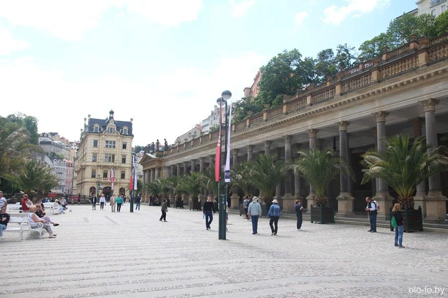 Млынская колоннада, Карловы Вары