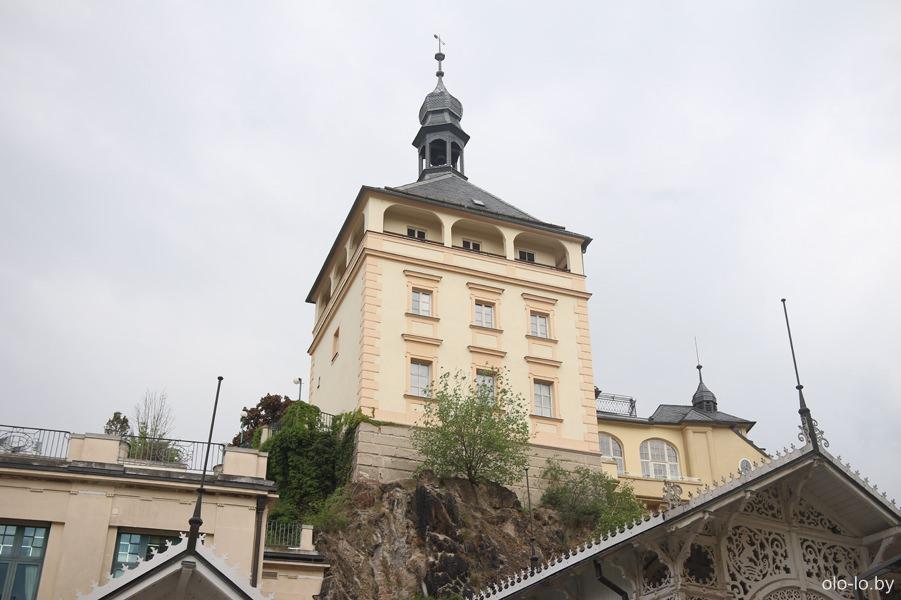 Крепостная башня, Карловы Вары