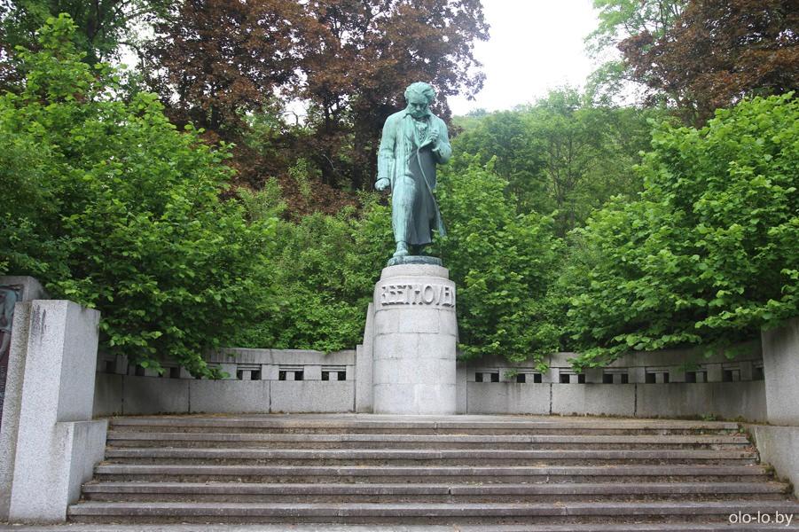 памятник Бетховену, Карловы Вары