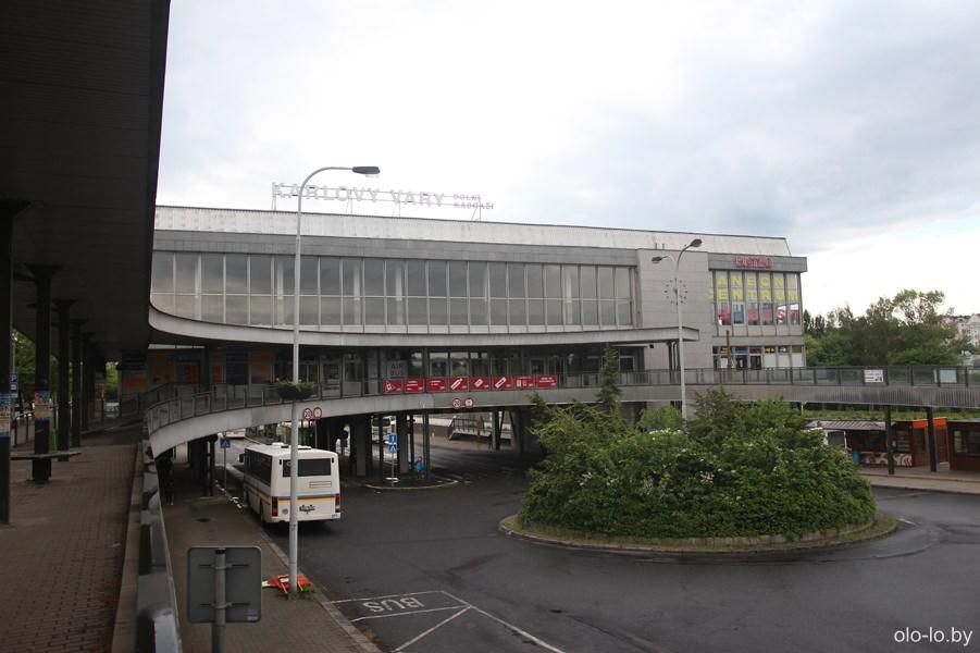 Автовокзал, Карловы Вары