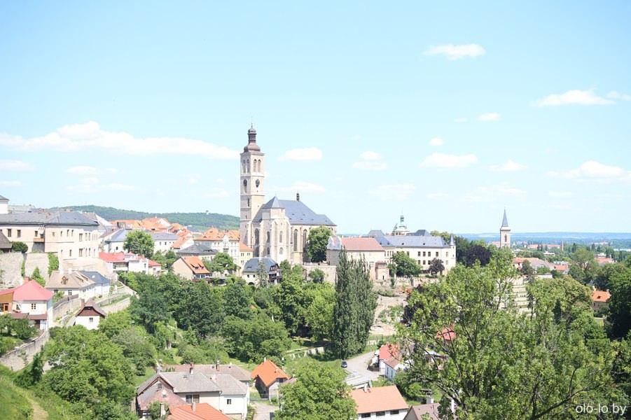 Панорамный вид Кутной Горы, Чехия
