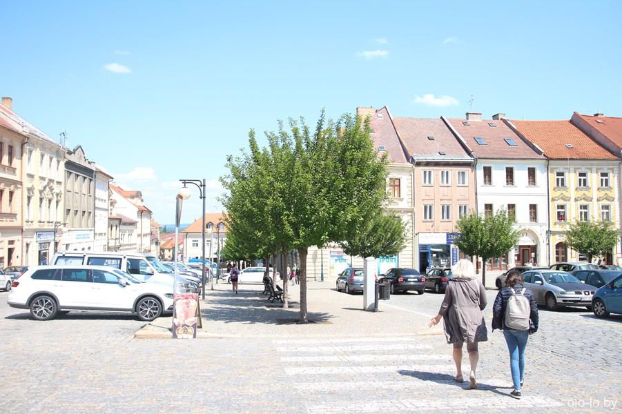 Улицы Кутной Горы, Чехия