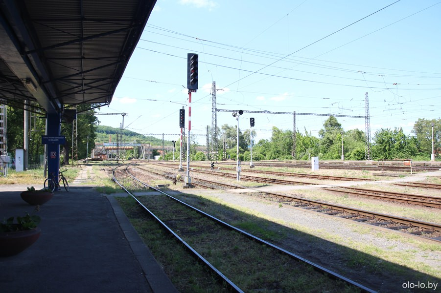 жд вокзал Седлец